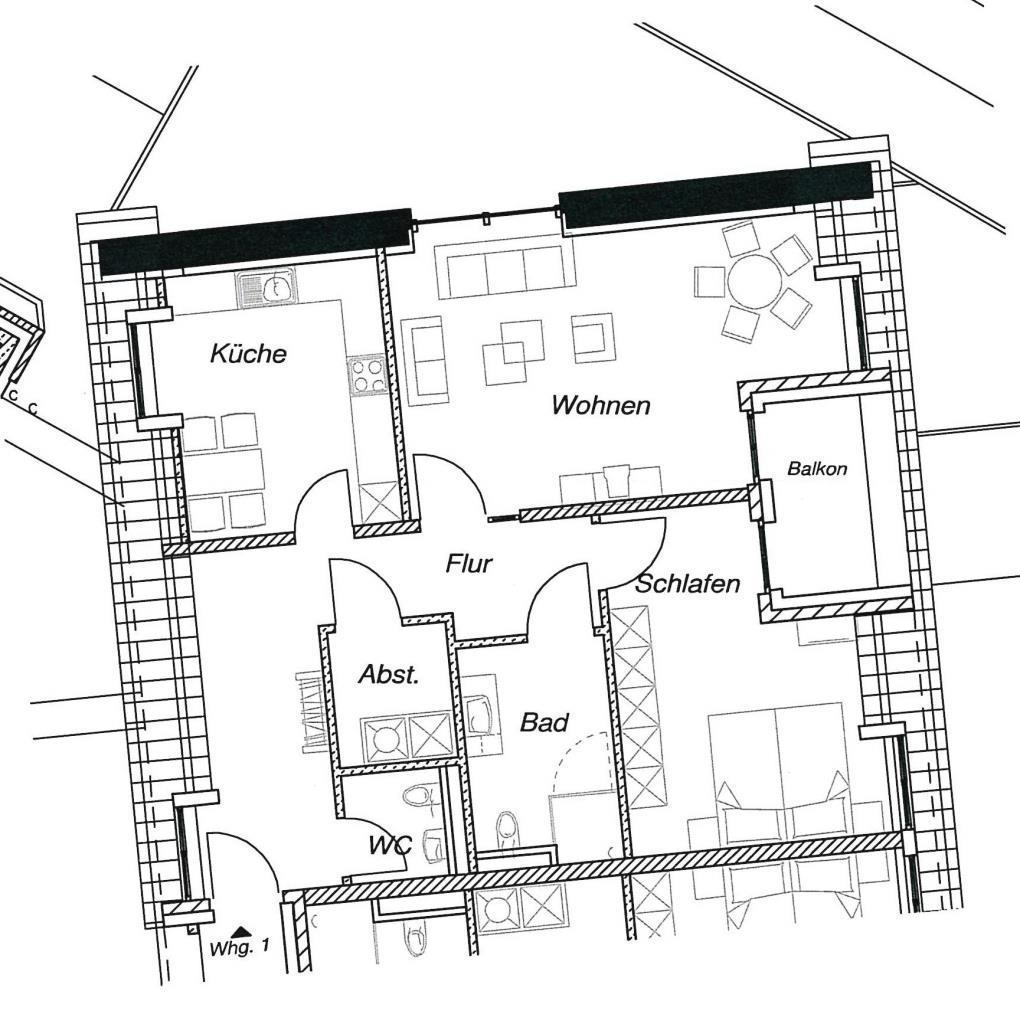 Wohnung 1 Block III